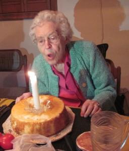 Mom's 95th birthday