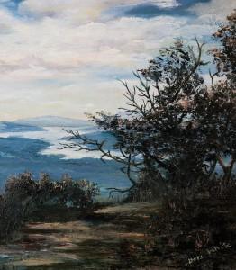 One of Mom's original oil paintings